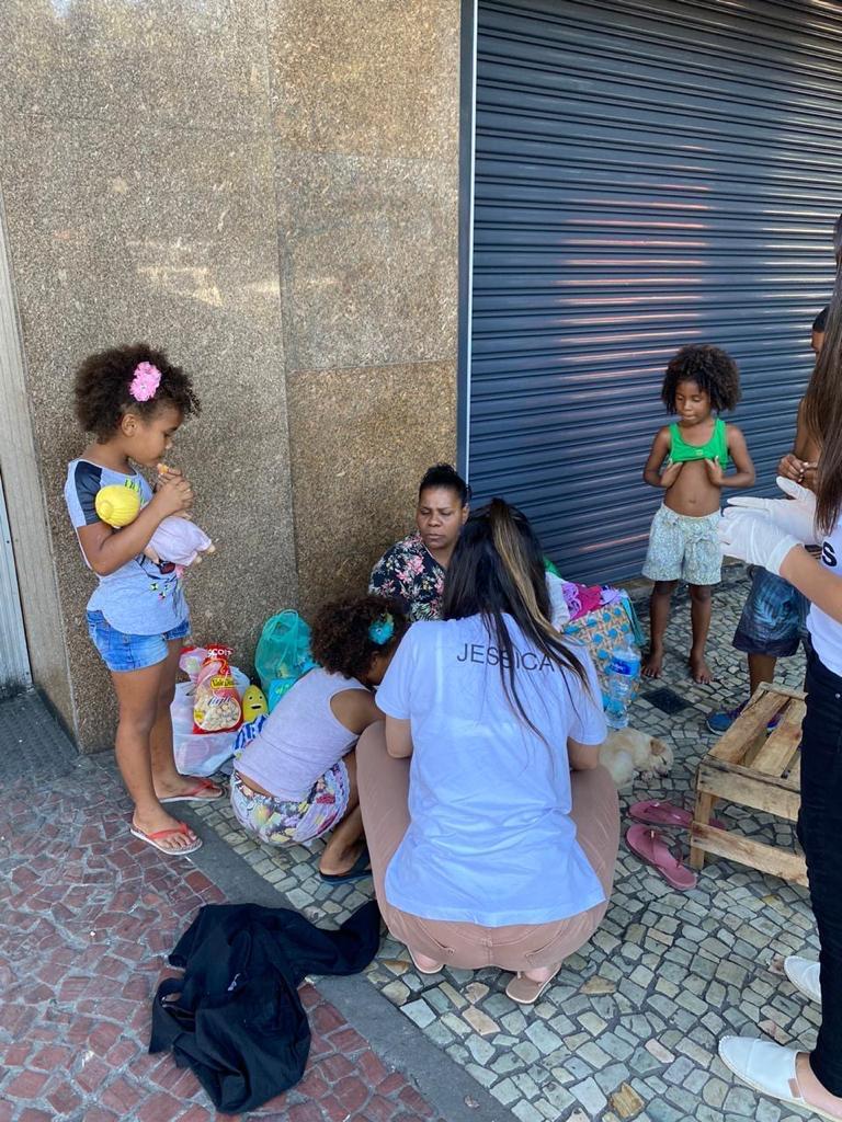 Crianças nas ruas